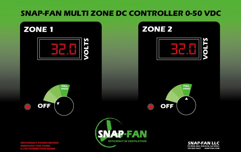 Variable Speed Controller for DC solar fans