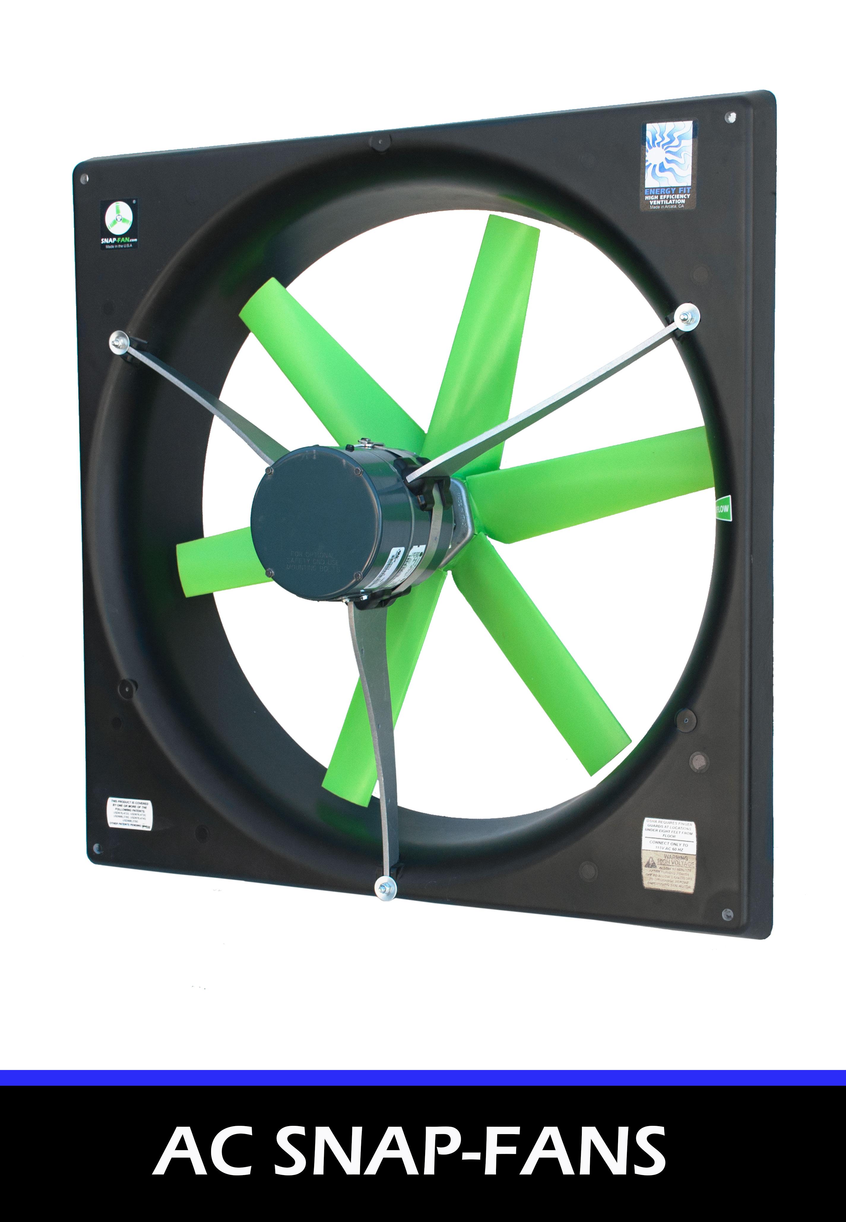 AC Energy Efficient Ventilation Fans