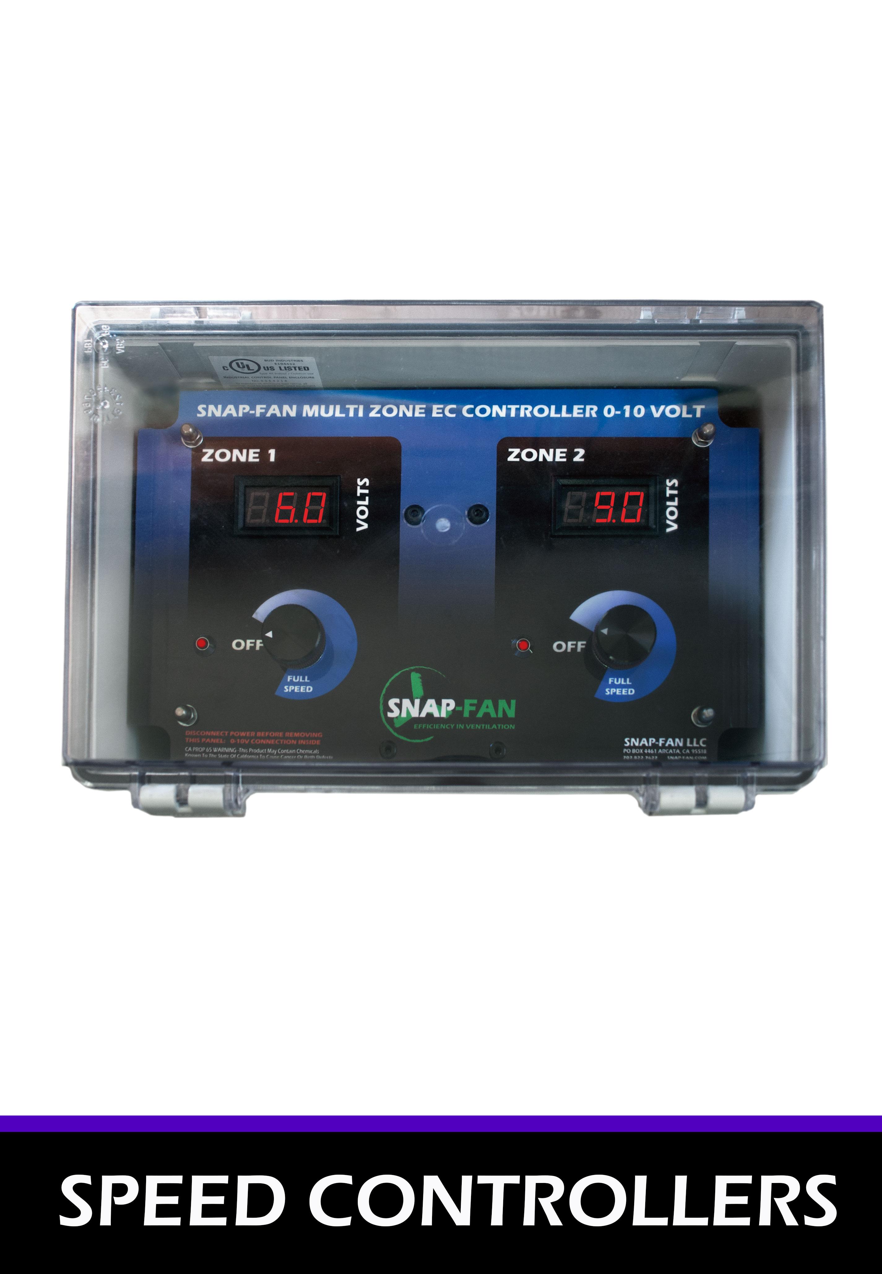 EC AC Fan Speed Controllers