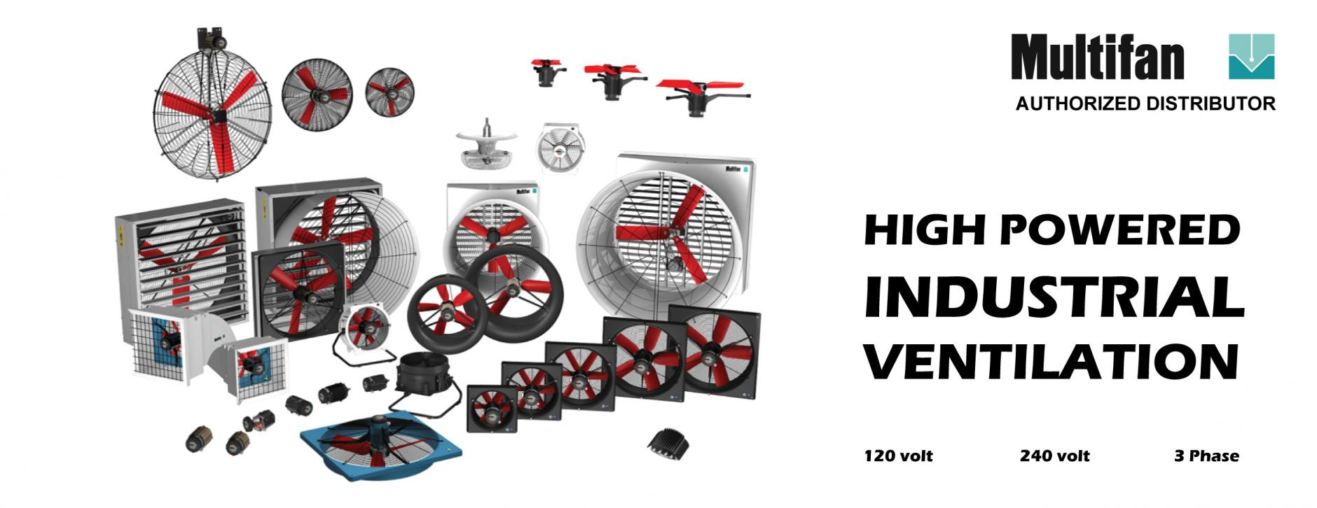 Industrial high performance greenhouse fans multifan vostermans
