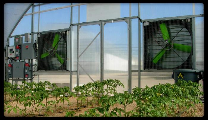 Off-the-grid Greenhouse System | Snap-Fan Solar National Air Propulsion