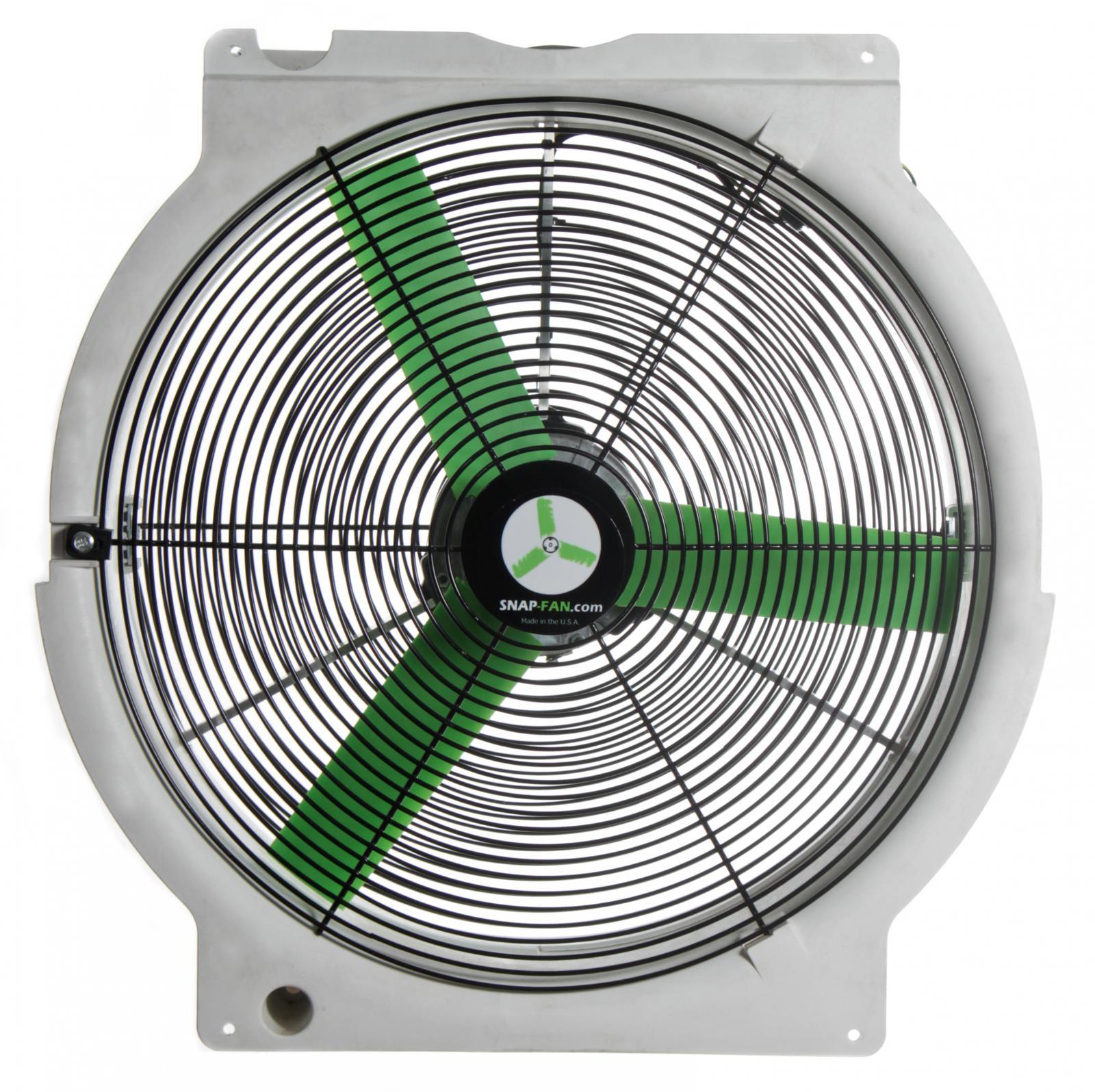 Greenhouse Air Circulation : Quot circulation snap fan solar national air propulsion
